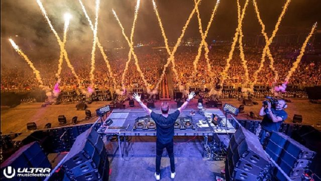 DAVID GUETTA, MIAMI ULTRA MUSIC